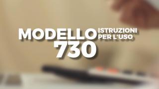 Modello 730: istruzioni per l'uso